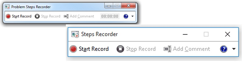 Aktivieren Sie den Windows Steps Recorder